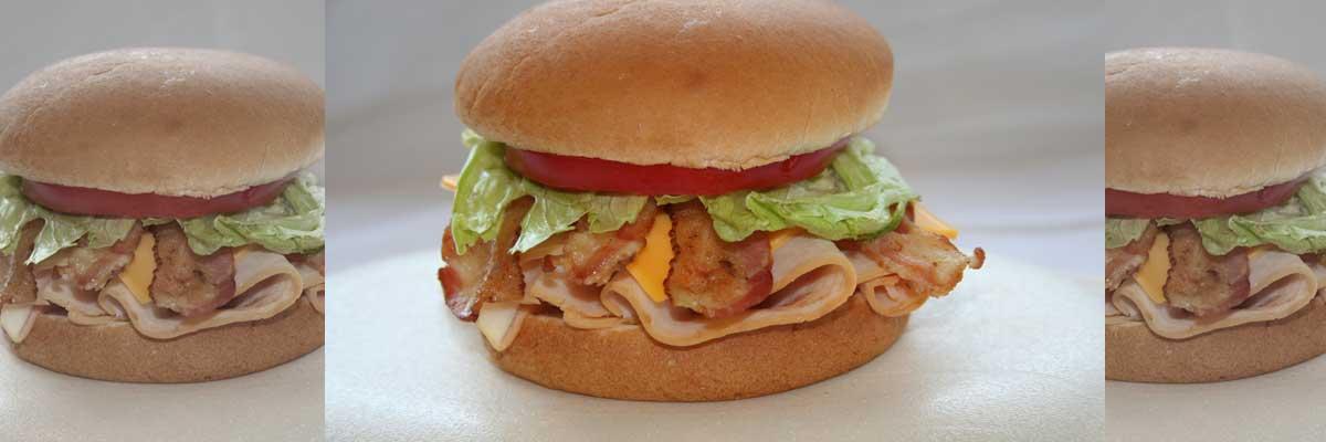 Andy's Turkey Club Sandwich
