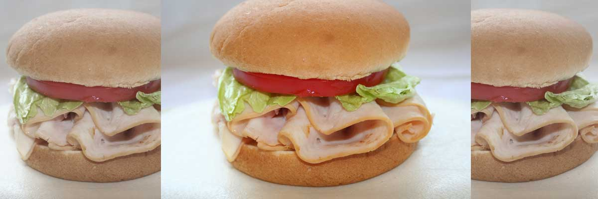 Andy's healthy and delicious Turkey Sandwich